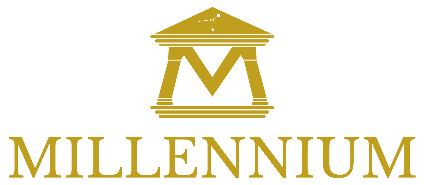 Millennium Immobiliare - Logo Oro 700